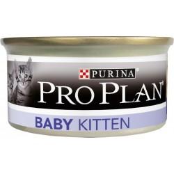 Проплан 85 гр консерва в банке для котят бебимусс курица
