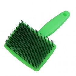 Пуходерка пластиковая мягкая с закругленными зубьями 6*13,5, АРТ2533873