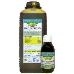 Био-железо с микроэлементами(кормовая добавка),100мл