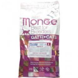 Monge Cat Sensitive корм для кошек с чувствительным пищеварением,10 кг