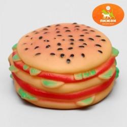 """игрушка """"гамбургер с салатом"""",9.5 см"""