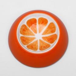 Миска керамическая для грызунов 10 мл Апельсин