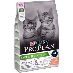 Проплан 1,5кг Сухой корм для стерилизованных котят,лосось