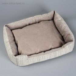 Лежанка-диван с двусторонней подушкой 53*42*11