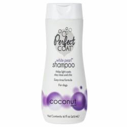 """8 in 1"" Shampoo White Pearl шампунь-кондиционер для собак светлых окрасов,473мл"