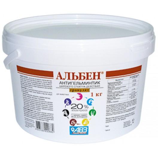 Купить Альбен гранулят . 1 кг.