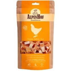 AlpenHof Мини-сэндвич куриный  для мелких собак и щенков,50гр