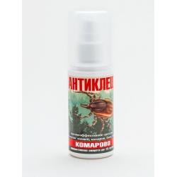 Антиклещ Комарово (Альфа-циперметрин),спрей флакон 50мл(защита до 15 суток!!!)
