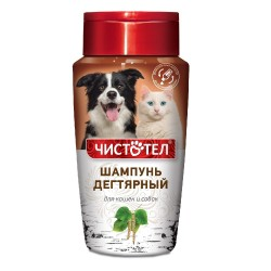"""Шампунь """"Дегтярный"""" для кошек/собак 220 мл"""