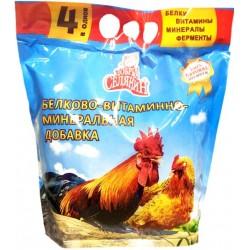 Белково-Витаминно-Минеральная добавка для кур несушек и другой домашней птицы 400 гр.