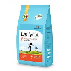 Dailycat 0,4 Корм для взрослых стерилизованных кошек с индейкой и рисом