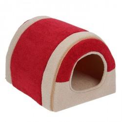 Домик-тоннель на молнии, 35 х 30 х 26 см, мебельная ткань
