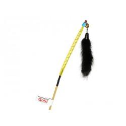 """Дразнилка """"Норковый хвостик на веревке"""" GoSi (натуральная норка)"""