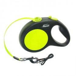Flexi рулетка New Neon L до  50кг лента 5 м