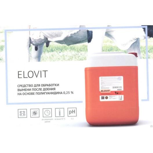 Купить Средство для обработки вымени после доения 20кг ELOVIT PLUS