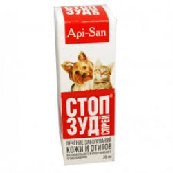 СТОП-ЗУД спрей для кошек и собак, фл. 30мл.