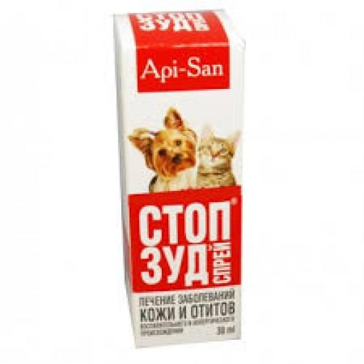 Купить СТОП-ЗУД спрей для кошек и собак, фл. 30мл.