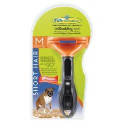 Furminator для собак  короткошерстных пород Short Hair Medium Dog 7см