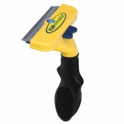 Инструмент для удаления подшерстка у собак и кошек,ширина 6,5 см,с кнопкой