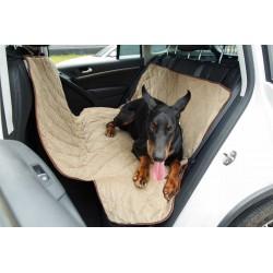 Гамак для перевозки собак усиленный, трехслойный, защита дверей, растяжка в салон