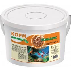 Гаммарус Корм для рыб крупный 10л ведро,1 кг