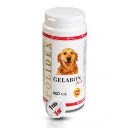 Полидекс  Гелабол плюс д/собак 300 т.(1 таб.на 10 кг)