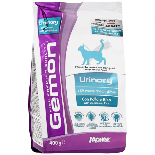 Gemon Cat Urinary для профилактики м/каменной болезни,1,5 кг