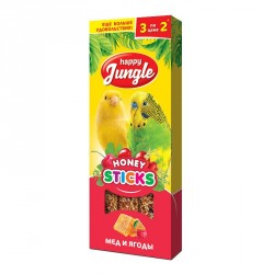 HJ Палочки для птиц  мед и ягоды 3 шт.