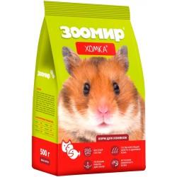 Хомка Корм для хомяков и мелких грызунов,500 гр
