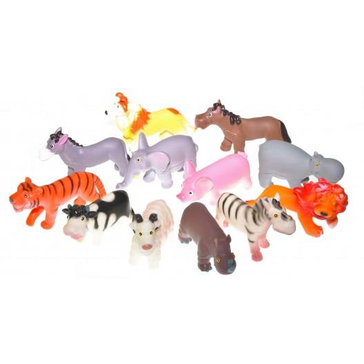 Купить Игрушки Зоопарк микс