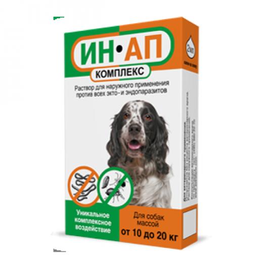 Купить ИН-АП комплекс для собак 10-20 кг