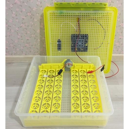 Купить Бытовой инкубатор на 48 яиц с контролем температуры, влажности и автоматическим переворотом