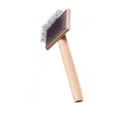 Пуходерка деревянная плоская большая