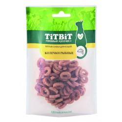 Колечки рыбные для кошек (Мягкие снеки) Титбит 40 г