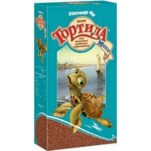 Купить Корм для молодых водяных черепашек Тортила