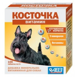 Косточка витамин, 100 таб. по 2 г.