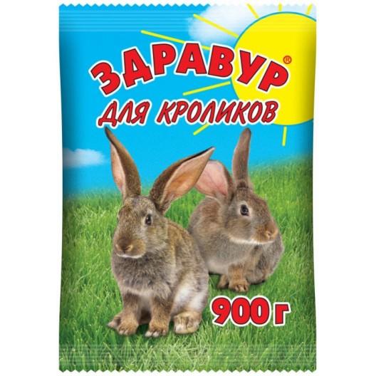 Купить Здравур для кроликов 900 гр