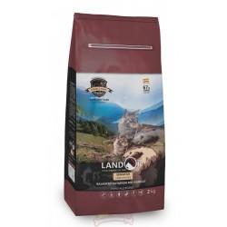 Landor сухой корм для кошек с чувствительным пищеварением,ягненок с рисом,400 гр