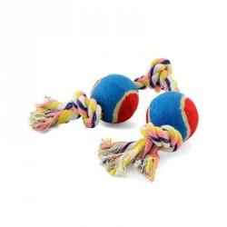 Игрушка Веревка 2 мяча