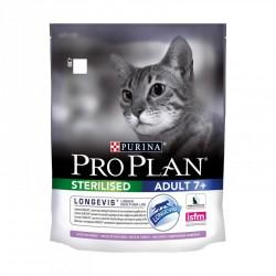Проплан 400г сухой корм для стерилизованных кошек старше 7 лет индейка