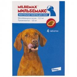 Мильбемакс антигельминтик для собак жевательные таблетки 1 таб