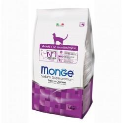 Monge Cat корм для взрослых кошек ,1,5кг