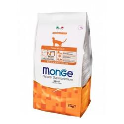 Monge Cat  Sterilised корм для стерилизованных  кошек, с уткой,1,5кг