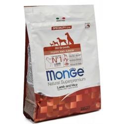Monge Dog Speciality Mini корм  для щенков собак всех пород,ягненок с рисом ,800гр