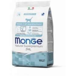 Monge Cat Sterilised корм для стерилизованных кошек с форелью,400гр