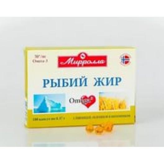 Купить Рыбий жир капсулы №100