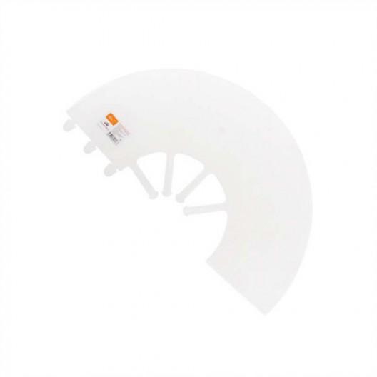 Купить Воротник защитный на пластиковой застежке 25см