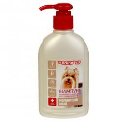 Mr.Bruno VIP Шампунь-кондиционер плацентарный для густой шерсти собак,200мл