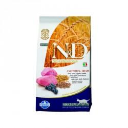 N&D Cat 1,5 кг низкозерновой корм для кошек,ягненок с черникой