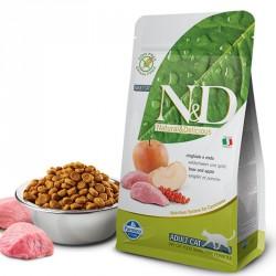 N&D Dog 0,3кг беззерновой для кошек кабан/яблоко